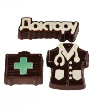 Շոկոլադե հավաքածու «Lara Chocolate» բժիշկ