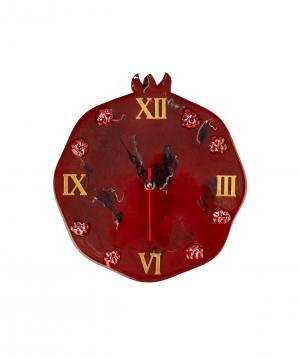"Wall Clock ""Wood Clock"" wooden"