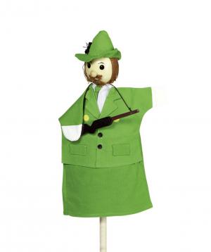 Toy `Goki Toys` Hand puppet Hunter