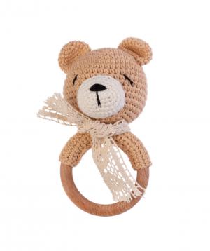 Խաղալիք «Crafts by Ro» չխկչխկան արջուկ №2