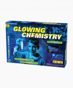 THAMES & KOSMOS Educational Game Glowing Chemistry