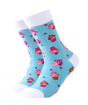 """Socks """"Zeal Socks"""" cupcake"""