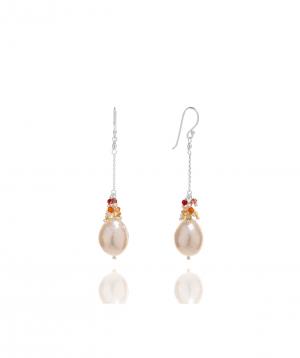 Earrings `Siamoods` silver SE532