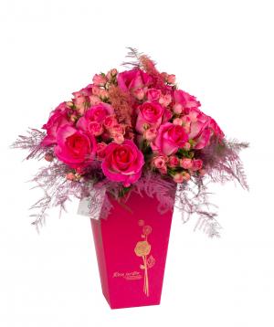 Կոմպոզիցիա «Կոնելյանո» վարդերով