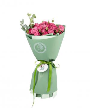 Bouquet `Lisabon`  bush rose