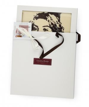 Portrait `Endorfina` chocolate Belgian