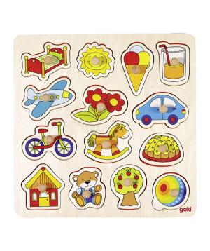 Խաղալիք «Goki Toys» փազլ գնդակ