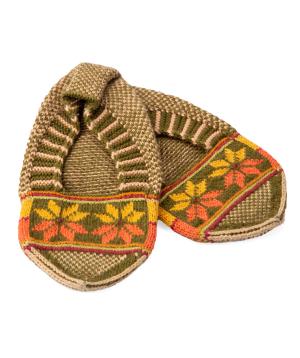 "Shoes ""Taraz Art"" wool №2"