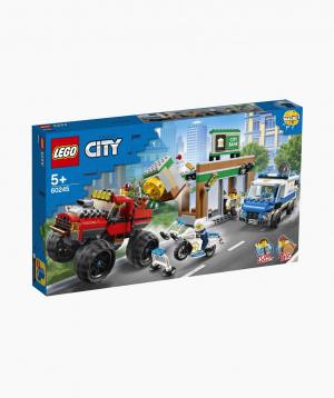 Lego City Կառուցողական Խաղ «Ոստիկանական արտաճանապարհային ամենագնացի կողոպուտ»