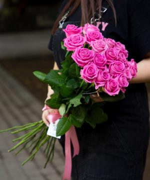 Վարդեր «Aqua» վարդագույն 19 հատ
