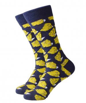 "Zil socks ""Cheese"""