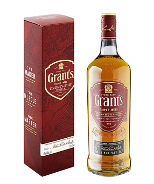 """Whiskey """"Grant՝s Triple Wood"""" 1l, in a box"""