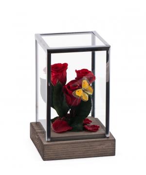 "Roses ""EM Flowers"" eternal red 18 cm"