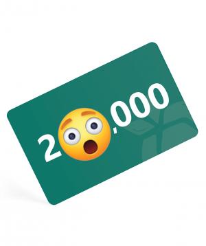 Նվեր քարտ  200,000