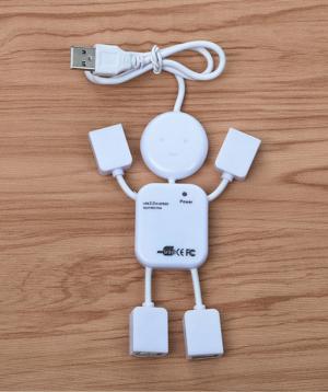 USB hub «Creative Gifts» մարդուկ