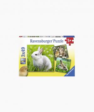 Ravensburger Փազլ «Նապաստակներ» 3x49p