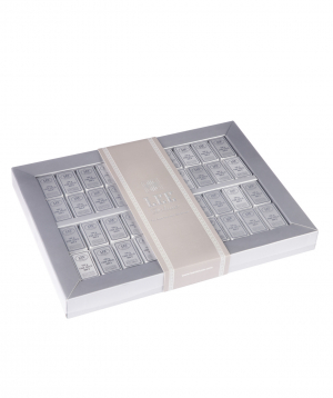 Collection `Lee Ounce Silver` of  chocolate candies 550 gr