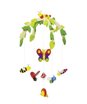 Մոբիլ «Goki Toys» միջատներ