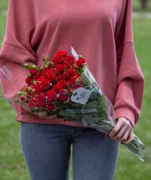 Spray roses «Atհens» red