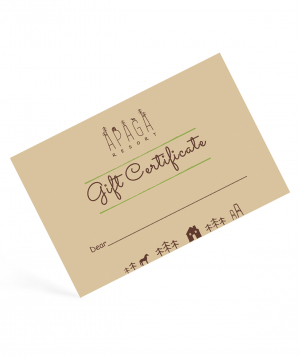 "Gift card ""Apaga Resort"" horse riding 3 hours"