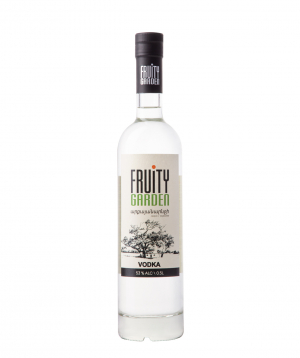 Vodka `Fruity Garden` persimmon 500 ml