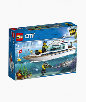 Lego City Կառուցողական Խաղ «Զբոսանավ»