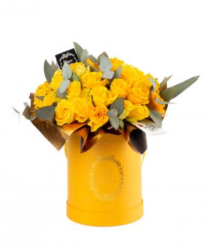Կոմպոզիցիա «Նիկայա» վարդերով