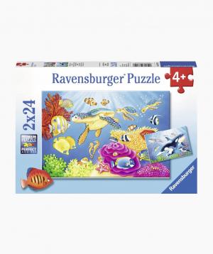 Ravensburger Puzzle Vibrance Under the Sea 2x24p