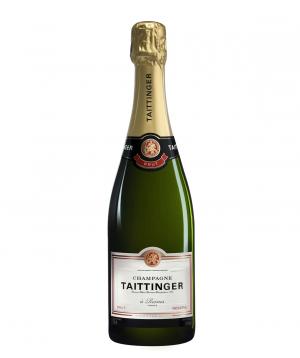 Champagne `Taittinger Brut Reserve White` 750ml