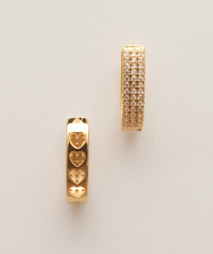Earrings `Rougecoco` Princess Beatrice