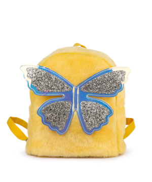 """Backpack """"Butterfly"""" for children, yellow"""