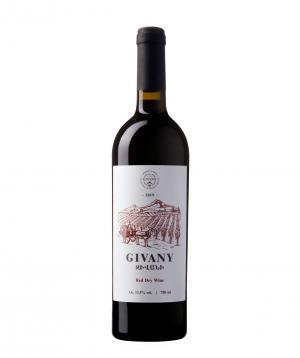 Գինի «Givany Wines» կարմիր չոր 750 մլ