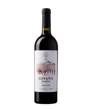 """Wine """"Givany Wines"""" red dry 750 ml"""