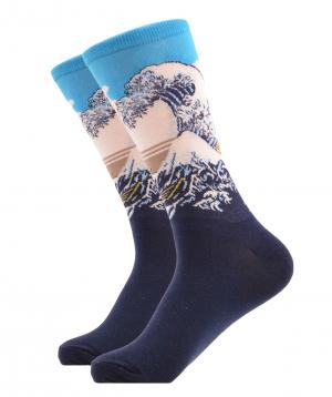 """Socks """"Zeal Socks"""" Waves"""