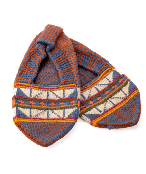 "Shoes ""Taraz Art"" wool №1"