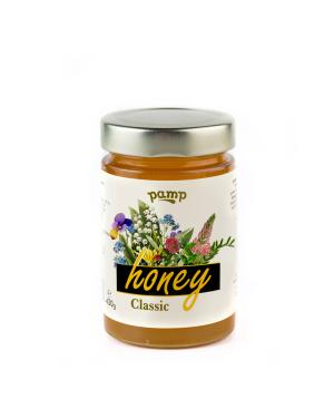 Մեղր «Pamp Honey» դասական 430 գ