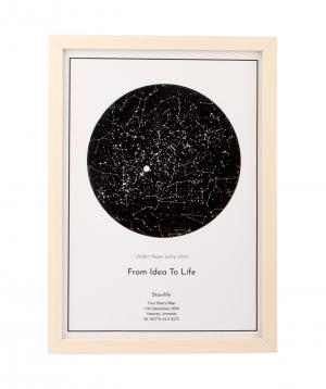 Անհատական աստղային քարտեզ A4_03