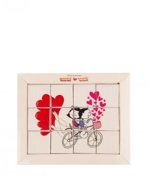 "Sweet puzzle ""Gourme Dourme"" festive №2"