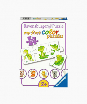 Ravensburger Փազլ «Կենդանիների ձագուկները» 6x4p