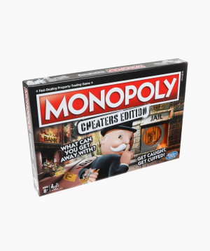 Hasbro Board Game MONOPOLY CHEATERS EDITION