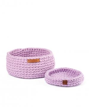 "Collection ""Ro Handmade"" of handmade cotton baskets №3"