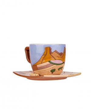 "Coffe mug ""Nuard Ceramics"" Saryan"