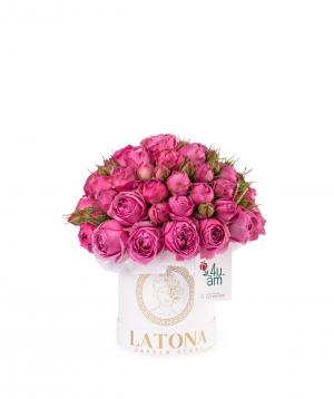Կոմպոզիցիա «Սելեն» վարդերով