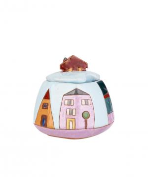 """Sugar bowl """"Nuard Ceramics"""" City №2"""
