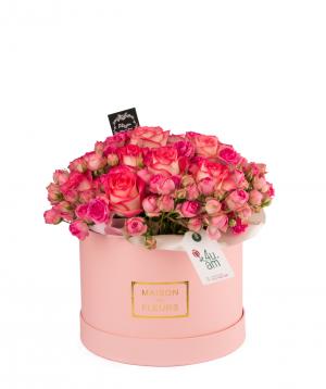 Կոմպոզիցիա «Լեննոքս» վարդերով