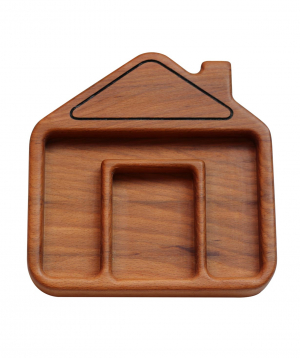 Eco plate `WoodWide` house