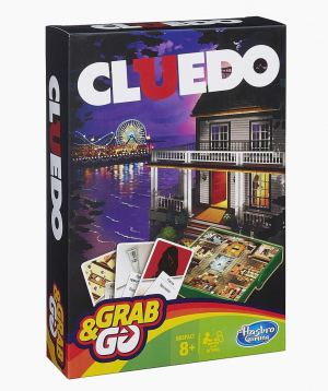 Hasbro Board Game CLUE GRAB AND GO