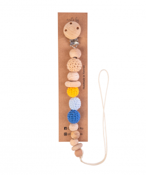 """Clip """"Crafts by Ro"""" for pacifier and toys №1"""